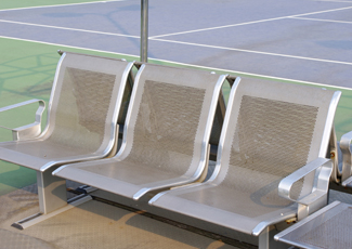 Stainless Steel Benches - Clermont, FL